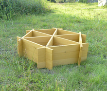 New design 6 angle self-assembly planter box