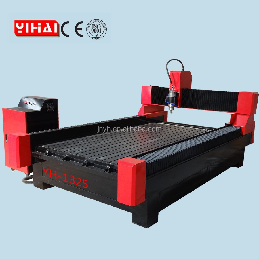 stone cnc router 1325/stone carving YH-1325/marble/granite/jade/bowlder/tombstone carving machine production line
