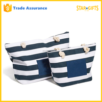 Wholesale Fabric Cotton Canvas Shopping Bag With Rope Handles