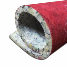 Cheap flooring insulation felt rebonded PU carpet foam underlay