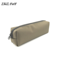 Cool Zipper bag factory directly canvas pencil case