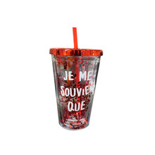 First Class Durable Plastic Travel Cup With Straw