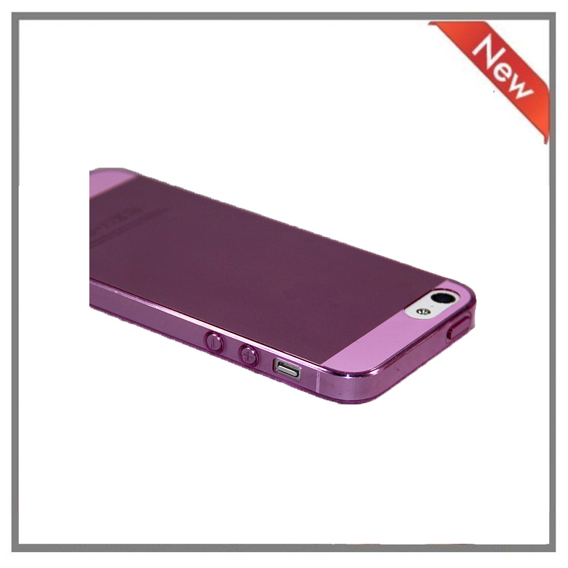 For Apple Iphone5 5S soft TPU IMD silicone phone cases cover
