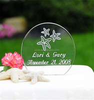 Novelty wholesaler acrylic lucite wedding centerpieces with logo
