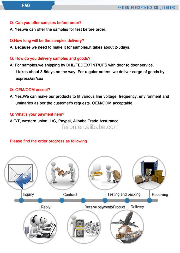 UV Ballast germicidal electrical ballast killing sterilizer ballast