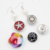Fashion Jewelry Wholesale Chunky 18mm Button Snap Jewelry Interchangeable Pearl Snap Earrings For DIY Button Jewelry Brincos