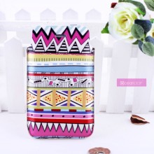 Wholesale mobile cover protective PU leather sleeve phone bag for iphone 4 cover