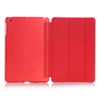 Ultra Slim Smart Cover PU Leather Case Stand for ipad cooling case
