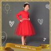 Red Birthday Princess for girls kids cocktail evening party Costume Dress