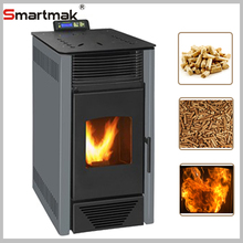 2017 year cheap smokeless Burning Wood Pellet Stove