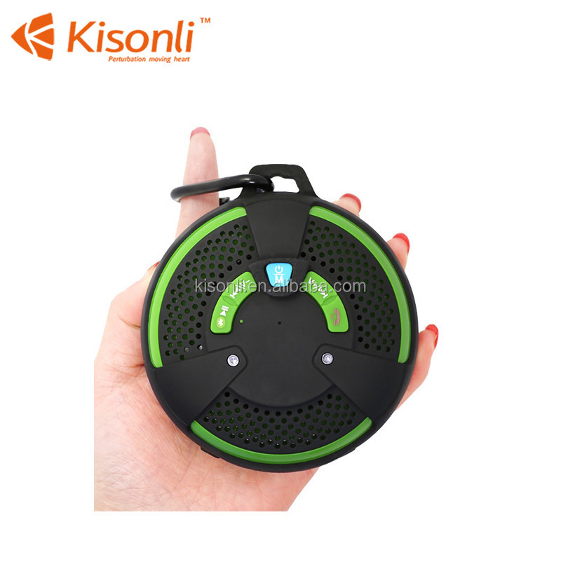 Waterproof Portable Wireless Bluetooth Speaker with Sucker For Shower Mini Speaker Support TF USB FM Radio
