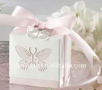 charming cut out butterfly wedding box chocolate box FL730 NEW ARRIVAL