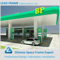 Light Weight Professional Design Petrol Station