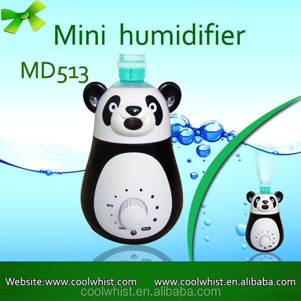 Humidifier Portable Mini Humidifier/Humidifier Compatible with Coca-Cola, Evian, Fiji Bottle with Whisper-quiet Operation, Autom