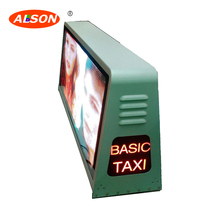 P5 Taxi Roof LED Screen For Advertising , P5 Outdoor SMD2525 Waterproof LED Display Sign