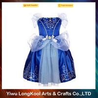 Buy Hot Baby Girls Frozen Anna and Elsa Coronation Party Princess ...