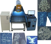 GLORYSTAR Newest 3-axis Dynamic Laser Cutter/Engraver GLD-275 for Jeans CE&SGS