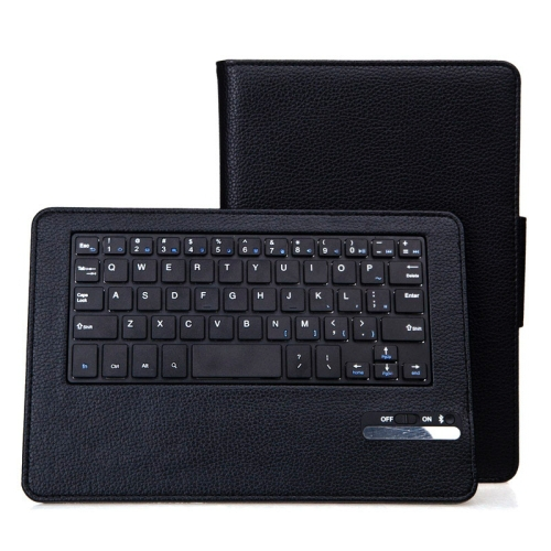 Bluetooth Keyboard & Litchi Texture Leather Case with Holder for Google Nexus 9