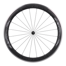 Yoeleo SAT Carbon Clincher Bike Wheels Alloy 50mm 60mm 700C Road Bike Aerospoke Wheel