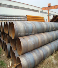 spiral welded steel pipes for tube the area seaside construction