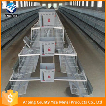China factory price chicken layer cage/chicken breeding cage with egg tray equipment