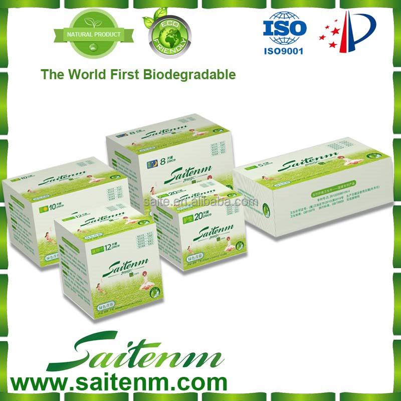 Saite Eco-friendly Higienic Women Sanitary Pad Distributor