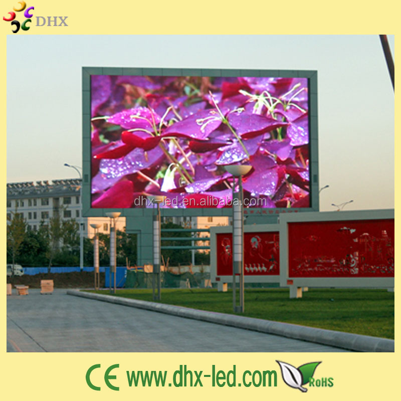 Full color high definition pixel pitch 5mm outdoor led display