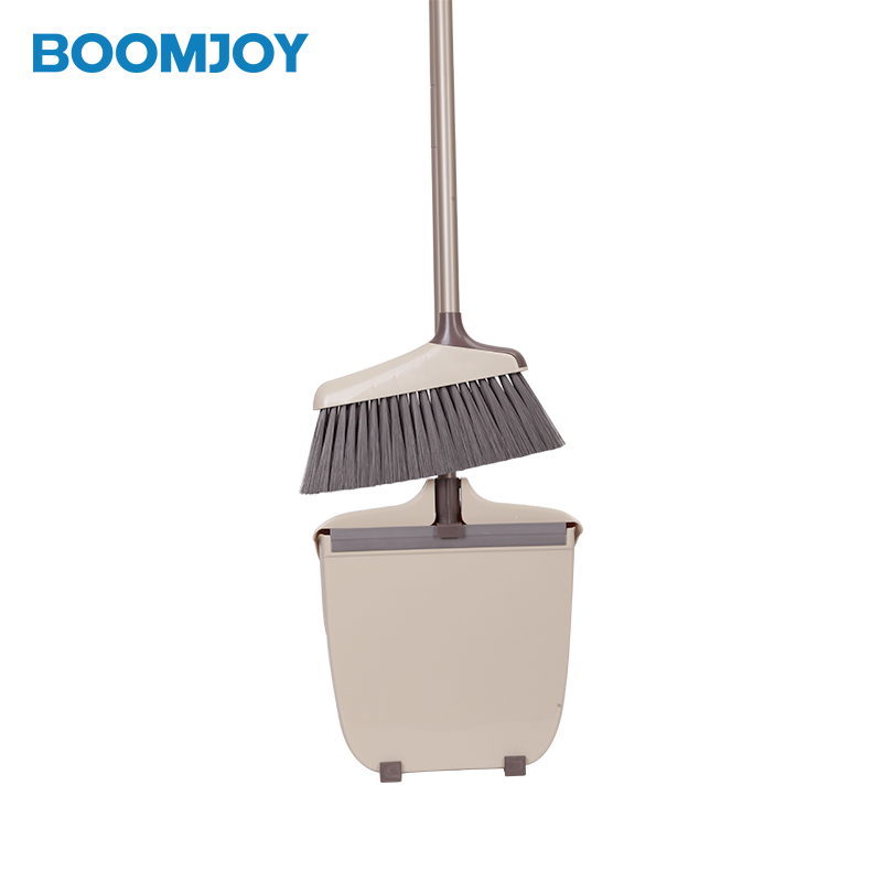 BOOMJOY best seller <strong>Y2</strong> Plastic smart <strong>design</strong> windproof amazon choice online shopping garden cleaning Broom And Dustpan