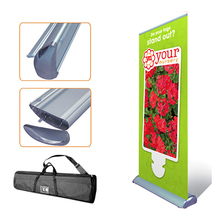 Outdoor Advertising Exhibition Event Banner Display Stands