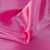 bright satin dress material fabric