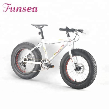 Professional OEM ODM fatbike manufacturer 20 '' alloy frame disc brake big tire adult man snow bicycle fat bike beach cruiser