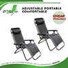 Zero gravity recliner lounge pool chair with sun shade
