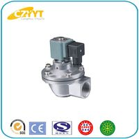 compression fitting pipe pulse jet valve