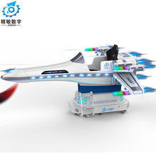 2018 new arrival VR airline aeroplane 9d virtual reality flying game machine simulator with 9d vr