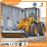 popular compact wheel loader crawler tractor