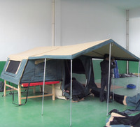 camping tent trailer with comfortable