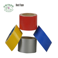 Decorative waterproof colored duct tape