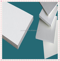 Green 2016 hot sale 1220*2440mm White board high density closed cell foam pvc