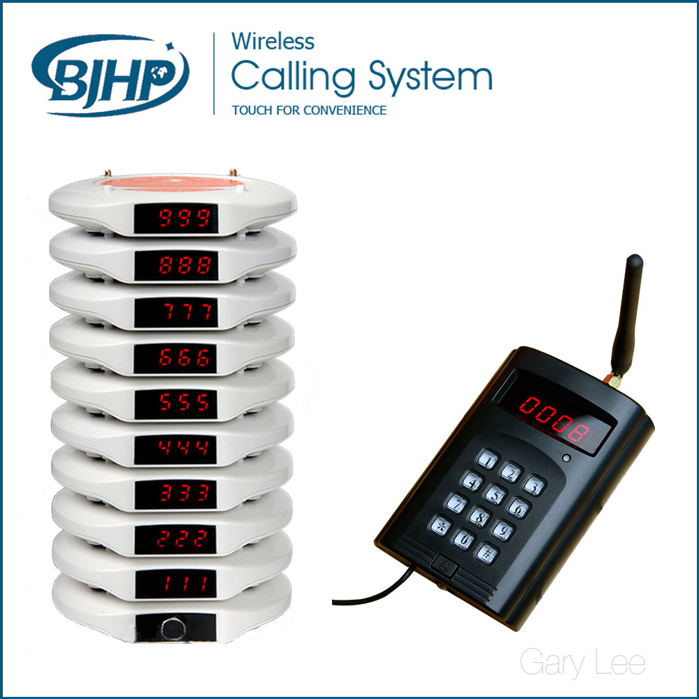 LED display ,Wireless Restaurant Coaster Pager, Queue Management System