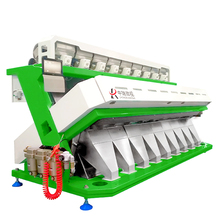 6SXZ-612 THE BEST INDUSTRIAL FARM COLOR SORTER MACHINE NUT RICE GRAIN COCOA COFFEE BEAN VEGETABLES FRUITS FROM CHINA