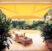 Remote Control Terrace Retractable Sunshade Awning Manufacturer/Shelter for Balcony