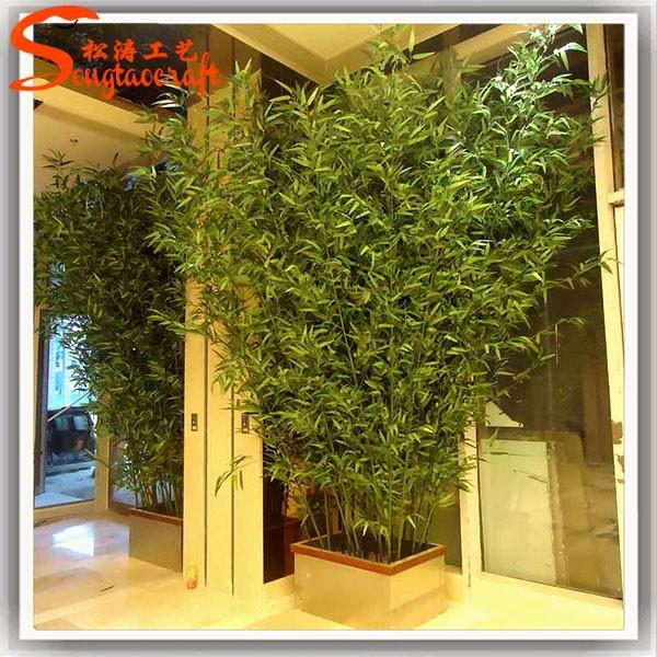 Faux vert chinois pas cher en plastique bambou p les for Plantes en plastique exterieur