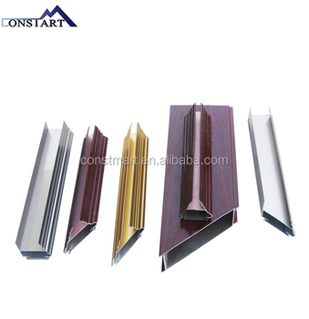 Constmart good sales of aluminum painting finish profiles in low price