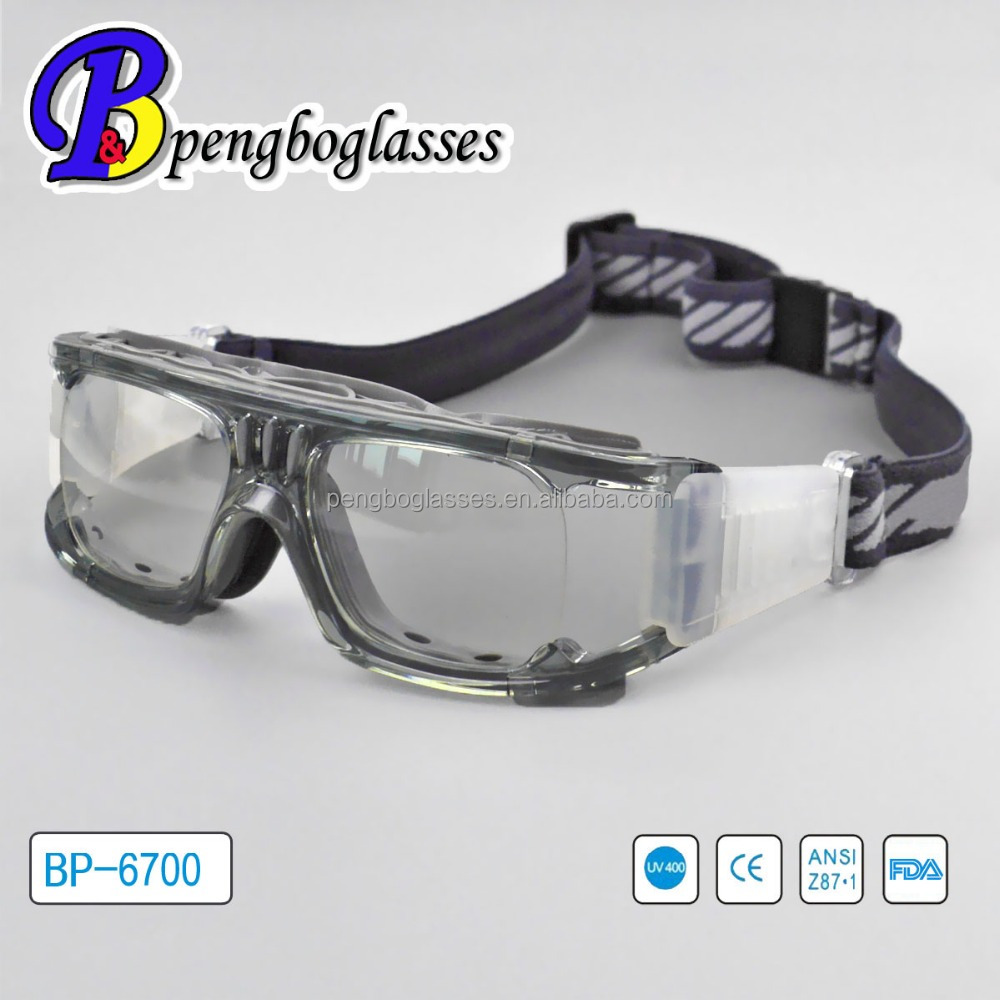 Comfortable sports glasses scratch resistant basketball eyewear