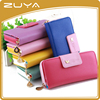 Lady purse long zipper wallet cell phone bags quality women wallet