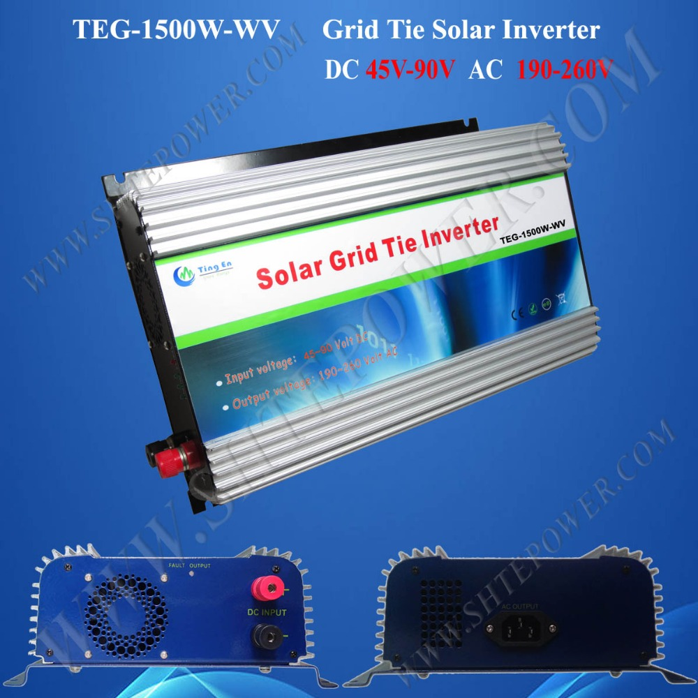 pure sine wave on grid tied <strong>dc</strong> to ac 1500w solar inverters 230vac 48v