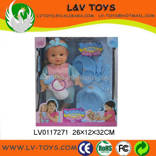 Fashion design Bonnie baby doll with functions