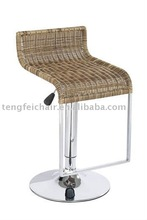 Rattan swivel bar stools TF-704-1