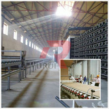 YR-GBPL 28 years experience plaster board production line / Knauf hot air plaster board production line