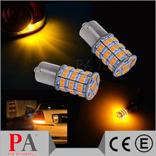 CE RoHS Certified 1 Year Warranty 55 SMD 3528 2835 LED For Auto Car Accessories Sidelight Backup Rear Turn Light Lamp Orange